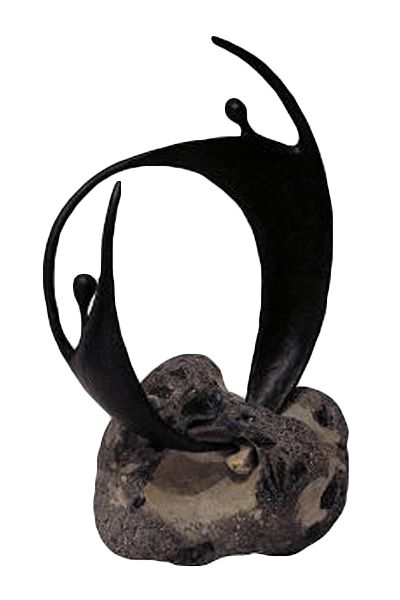 lenie van well bergwerff sculpture anonyme